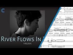 River Flows in You - Yiruma - Harp Sheet Music, Chords, and Vocals - YouTube