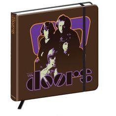 The Doors Notebook: 70s Panel Wholesale Ref:DONB01