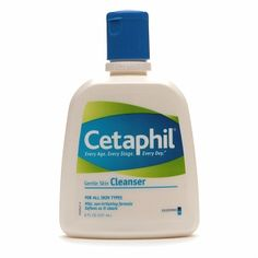 Cetaphil Gentle Skin Cleanser, still loving it after all these years...it works!..and economical too