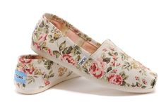 Toms Shabby Chic Flora Womens Classics
