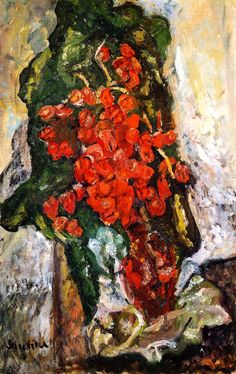 Bouquet of Flowers Chaim Soutine - circa 1919