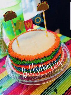 Taco Party, Fiesta Party, Churros, Taco Cake, Fiesta Cake, Apple Smoothies, Salty Cake, Holiday Cakes, Cake Tins