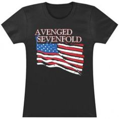 Avenged Sevenfold Girls Jr - Shirts - Apparel Rockabilia Music Merchandise
