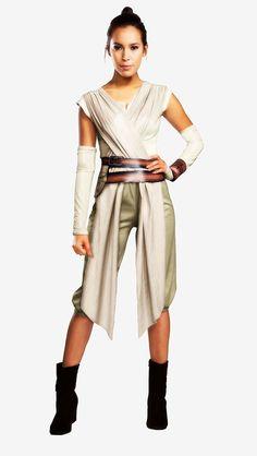 Star Wars Adult Rey Costume #HalloweenCostumes2016