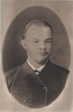 Lenin at age 20 before his sex change. Manado, Russian Caucasian, The Miracle Worker, Russian Love, Vladimir Lenin, Russian Culture, Historical Images, Her World, Soviet Union