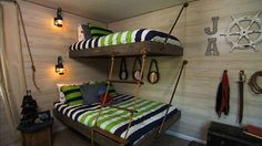 Cool kid/teen bedroom design!!