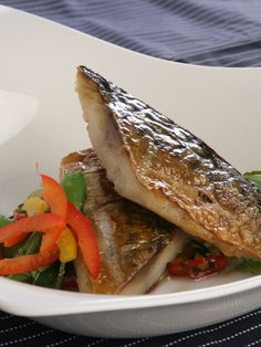Mackerel with an Asian Salad - A fantastic recipe that is sure to impress and great for Chinese New Year! - www.fishisthedish.co.uk/recipes/mackerel-with-an-asian-salad