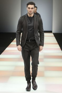 Emporio Armani homme collection automne-hiver 2015-2016 #mode #fashion