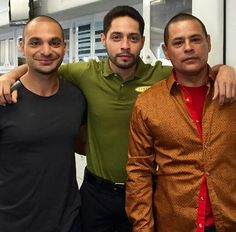 Michael mando, max arciniega, and Raymond cruz