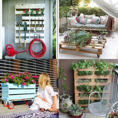 palet jardin la vida es cuca