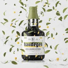 Designer Constantin Bolimond created the playful brand identity and packaging design for Haudegen Beer. The branding reflects both a modern and trendy identity while paying homage to tradition, which Bolimond achieves with the use of a colourful print design paired with a German gothic script-inspired logotype.