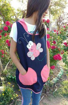 Aprons, Shirt Dress, T Shirt, Creations, Dresses, Fashion, Pinafore Apron, Amor, Kids Apron