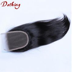 8A Grade Free Part Straight Hair Lace Closure