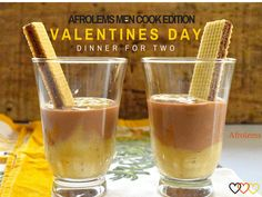 Valentines Recipes compiled in an  E-Book by Afrolems