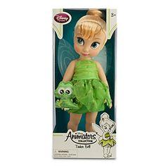 Disney Animators' Collection Tinker Bell Doll - 16'' Tall (with Baby Croc) Disney http://www.amazon.com/dp/B00QJ0Y7JA/ref=cm_sw_r_pi_dp_F.UUub1FD7HD3