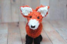 Knitting Pattern Fox Toy PDF Waldorf Knit Fox by SweetBauerKnits, $5.00