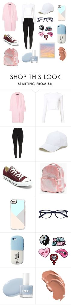 """""""Okay"""" by sienna-waller ❤ liked on Polyvore featuring Rochas, Proenza Schouler, Sole Society, Converse, Boohoo and Casetify"""