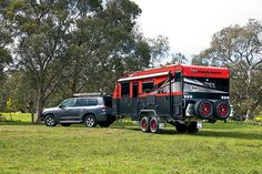 The Wonderland RV caravan can be used both for a family holiday and an off-road trip with its build quality and strength that can stand most hostile. Fifth Wheel Campers, Popup Camper, Truck Bed, Old Models, Caravans, Offroad, Rv, Wonderland, Road Trip