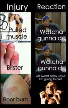 Hahaha sooooo true!! Nothing is worse than Marley burns!