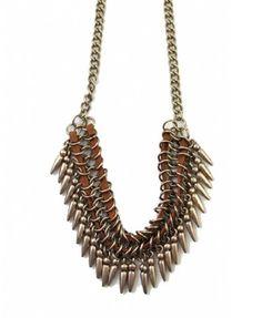 Vintage Slim Chain Necklace