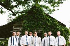 erin & jason   celebrity dairy farm wedding   groomsmen attire