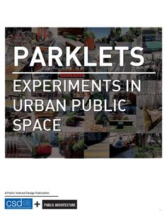 Research Report from 2012 Public Interest Design Summer Program's Externship with Public Architecture