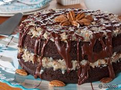 The Ultimate German Chocolate Cake