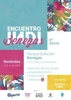 El 12 y 13 de noviembre, el Parque Estación Benegas de Godoy Cruz se llena de arte, diseño y música con la edición del 8ºEncuentro INDI en Benegas