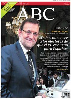 La portada de ABC del miércoles 7 de octubre
