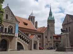 The town of Henry the Lion - Braunschweig, Germany