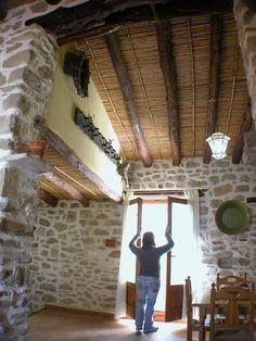 The Castellot house. The Vall de Gallinera, Mountain of Alicante. Spain.