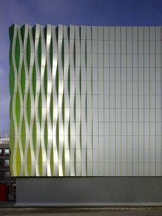 Modern Architecture, Research Laboratory University, Groningen, Minimalistic, Futuristic Architecture, Future Building, Modern Exterior by FuturisticNews.com #futuristicarchitecture