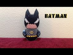 3D Origami Batman tutorial - YouTube