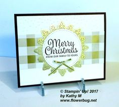 Sweet & Simple Christmas card