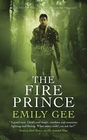 My review of the wonderful Fire Prince by Emily Gee, a high paced, excellent second book in the Cursed Kingdoms Trilogy.
