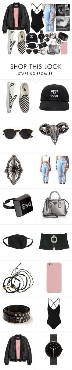 """Lie -Jimin"" by mckenzi-blueh ❤ liked on Polyvore featuring Vans, Blackfist, Christian Dior, Style Tryst, JAKIMAC, Gaydamak, ASOS, Prada, J.W. Anderson and Scosha"