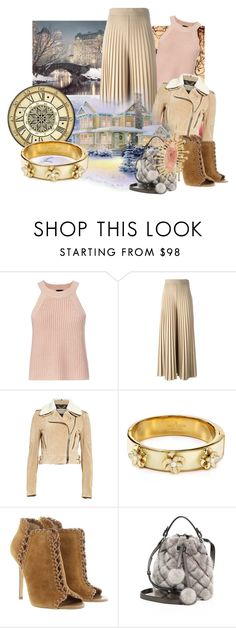 """""""Neutrals"""" by leptismagna ❤ liked on Polyvore featuring WALL, Exclusive for Intermix, Givenchy, Burberry, Kate Spade, Michael Kors, MICHAEL Michael Kors, COOMI and neutrals"""