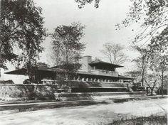 Robie House, Chicago, Illinois. 1909