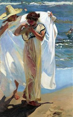 """Sorolla's """"After the Bath 1908"""""""