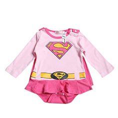 iikids Jumpsuit mit Umhang Kinder Unisex Superman-Form Baumwolle Langarmshirt Overall Baby Mmädchen Junge Schlafanzug Strampler Spieler Pink 80 iikids http://www.amazon.de/dp/B018TYR8OO/ref=cm_sw_r_pi_dp_Us4fxb1MDCGXB