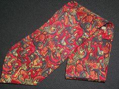 Vintage M. C. Escher Tie 100 Silk Red Cordon Art by TheTieParadise