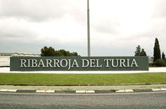 Letras corpóreas para el Ayuntamiento de Riba Roja