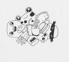 """#coffee #doodle"""