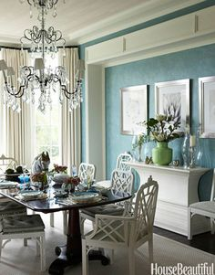 A Sala de Jantar Azul