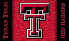 3 Ft. X 5 Ft. Flag W/Grommets Texas Tech Red Raiders - 95227