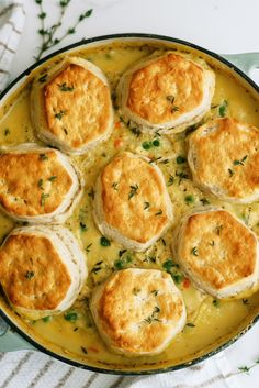 Enjoy this easy biscuit chicken pot pie recipe without all of the work of your traditional pot pie recipe! Easy Biscuit Chicken Pot Pie Recipe, Recipe Using Chicken, Dutch Oven Recipes, Pie Recipes, Chicken Recipes, Dinner Recipes, Easy Recipes, Ways To Cook Chicken, One Pot Dishes