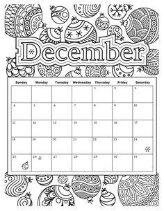 December Holiday Coloring Sheets Coloring Pages For Kids 17341 serie - This is December Holiday Coloring Sheets Coloring Pages For Kids 17341 serie. Use it for your kids, friends, etc Coloring Pages To Print, Printable Coloring Pages, Colouring Pages, Adult Coloring Pages, Coloring Pages For Kids, Coloring Sheets, Coloring Books, Calendar 2019 Printable, Kids Calendar