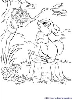 Disney Bunnies Coloring Page