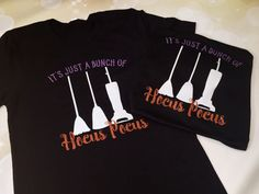 It's Just A Bunch Of Hocus Pocus Glitter Shirt by glittereverafter