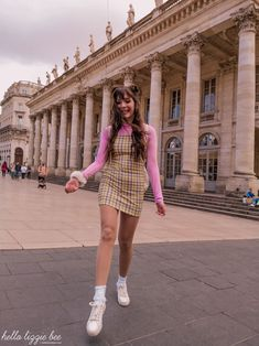 Clueless Inspired Outfit + Day Out in Bordeaux - Hello Lizzie Bee Clueless Outfits, Clueless Fashion, 2000s Fashion, Preppy Outfits, Teen Fashion Outfits, Girly Outfits, Retro Outfits, Preppy Style, Cute Fashion